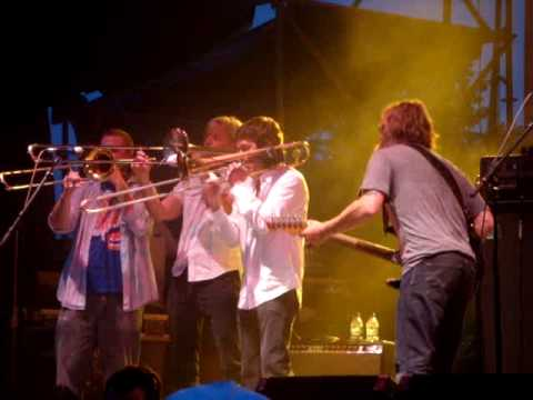 "2010 French Quarter Festival - Anders Osborne and Bonerama ""Stoned, Drunk and Naked"""