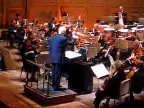 John Williams conducts Magnificent Seven Theme Boston 2006