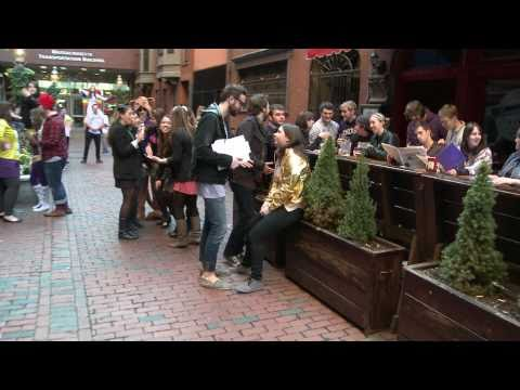 Emerson College Lady Gaga LipDub