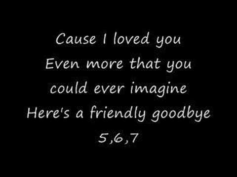 Bowling For Soup: Friendly Goodbye (FU) (lyrics)