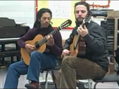 "Brasil Guitar Duo - ""Golliwogg`s Cakewalk"" by Debussy, 2008"