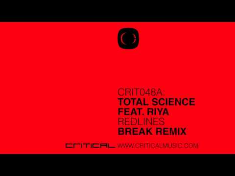 Total Science - Redlines (Break Remix) / Scaremonger - CRIT048