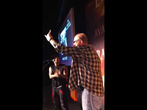 Brian Posehn rips Good Charlotte at the Kerrang! awards.MOV