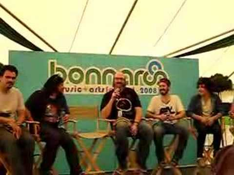 Bonnaroo Press Conference 2: Brian Posehn and Matt Morris