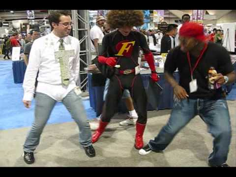 Stanky Leg - Comic-Con 2009 hosted by Chino