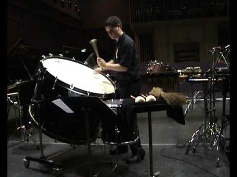 Schwantner Concerto for Percussion: Movement II (Part 2)