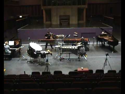 Schwantner Concerto for Percussion: Movement III (Part 1)