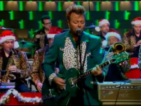 The Brian Setzer Orchestra Boogie Woogie Santa Claus Live