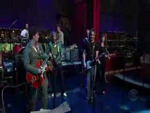 Broken Social Scene on Letterman