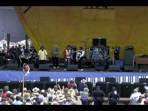 Buckwheat Zydeco at the 2007 New Orleans Jazz & Heritage Festival