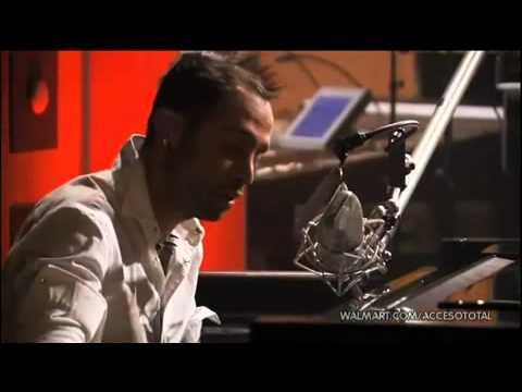 Camila - Al�jate de m� video clip (unplugged ) 2010 (lyrics) BY GLARE