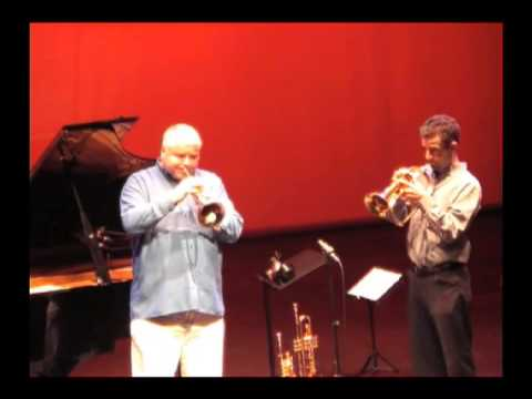 Moon River - Joe Burgstaller & Thierry Caens, flugelhorns - Limoges, France 2006