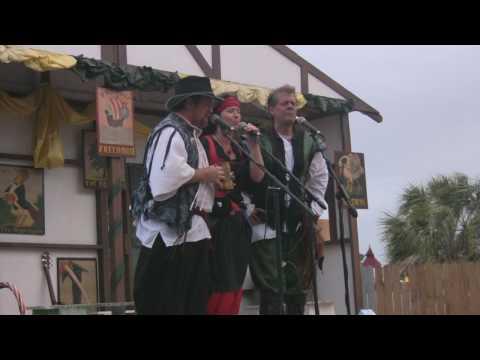 "Rambling Sailors ~ ""Barrett`s Privateers"" ~ Florida Renaissance Festival 2009"