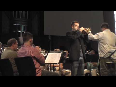 "Salvation Army Brass Spectacular 2009 - ""I`d Rather Have Jesus"" - Joe Burgstaller - guest soloist"