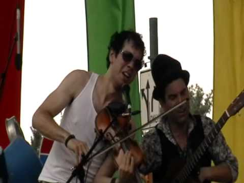 """Caravan of Thieves #4 """"You Are My Sunshine"""" @ Bele Chere 7/25/10"""