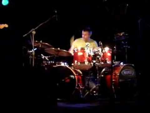 Carl Palmer at a drum festival in Poland