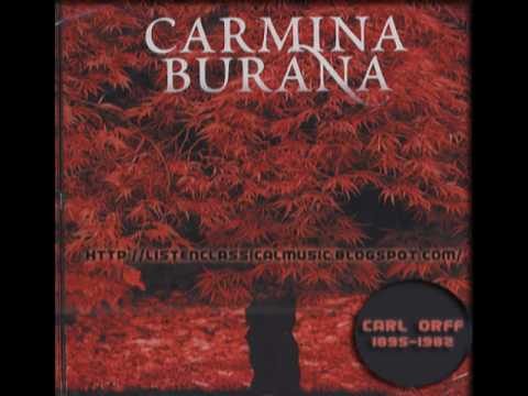 Carmina Burana - Carl Orff German Composer and the Classical Music of the 20th Century