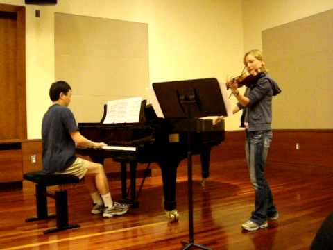 The Swan (Le cygne) -- Violin-Piano Duet