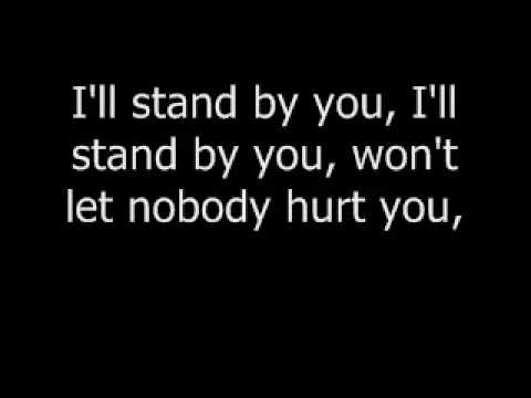 "Carrie Underwood ""I`ll stand by you!"" lyrics"