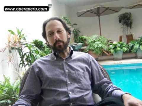 Giuseppe Altomare vuelve a Lima para interpretar tres roles