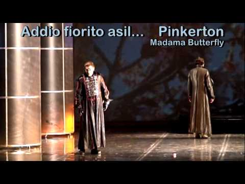 ALEKSANDAR DOJKOVIC - Tenor - Addio fiorito asil - Madama Butterfly - Puccini - 2009 - Belgrade
