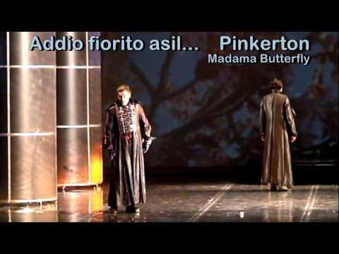 ALEKSANDAR DOJKOVIC - Tenor - Addio fiorito asil - Madama Butterfly - Puccini - 2009 - Belgrade