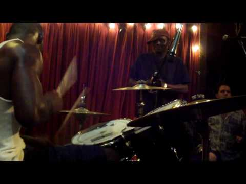 Cedric Burnside & Lightning Malcolm dba new orleans jazzfest `09