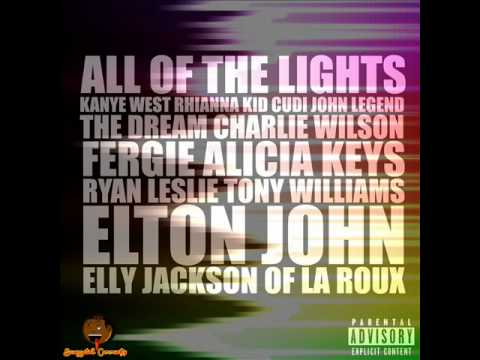 Kanye West - All of The Lights (LYRICS + HD AUDIO + EXPLICIT)