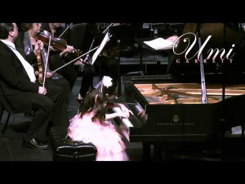 Umi Plays Mvt 1 of Mozart Piano Concerto No. 23