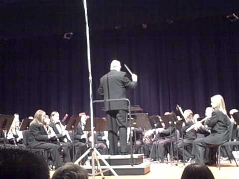 Charlotte High School Symphony Band - 73rd Band Bounce - The Midnight Fire Alarm