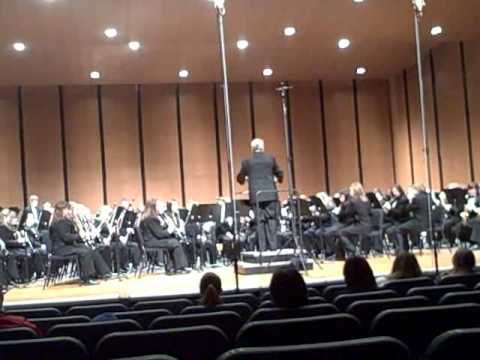Charlotte High School Symphony Band - Variations on a Korean Folk Song