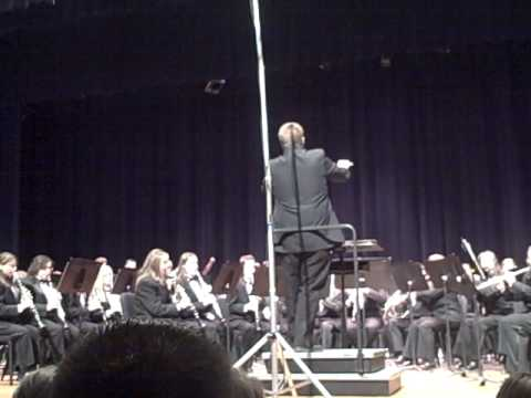 Charlotte High School Symphony Band - 73rd Band Bounce - Great Waldo Pepper March