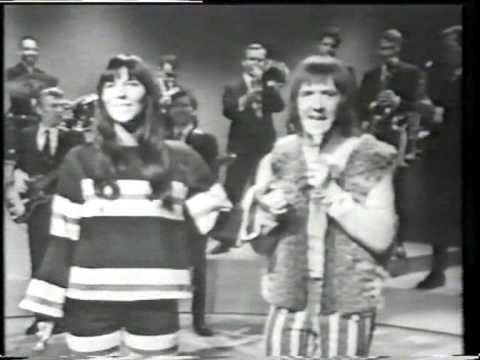 SONNY & CHER - I Got You Babe (rare clip)