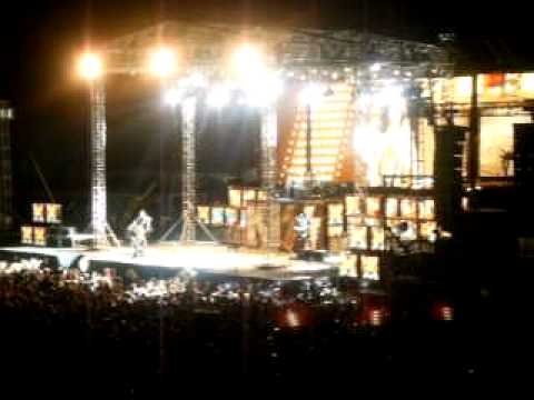 "KISS Cheyenne Frontier Days encore last song ""Rock And Roll All Nite"""