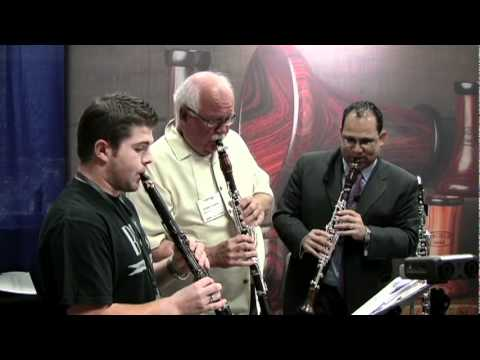 Backun ClarinetFest Trio with Julian Bliss, Larry Combs and Ricardo Morales