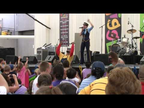 Choo Choo Soul at Jiggle Jam Family Music Fest 2010