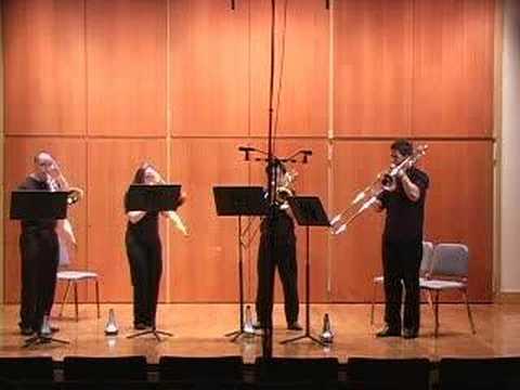Suite for Four Trombones /Gordon Jacob