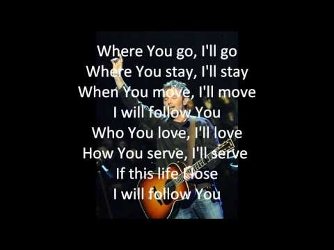 Chris Tomlin - I Will Follow w/Lyrics