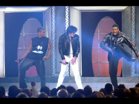 michael jackson usher chris tucker you rock my world.wmv