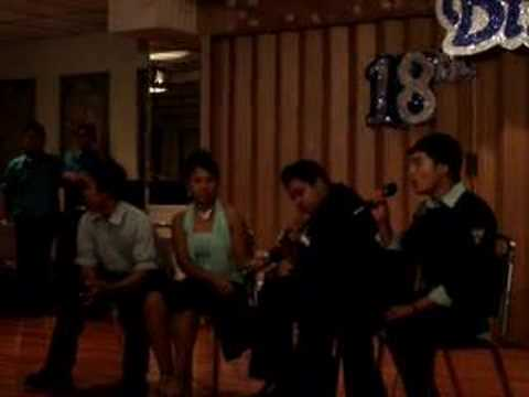 Chris & Jermaine singing Worth your While @ Jhosa`s Debut