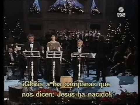 P. Domingo, Sissel, and C. Aznavour - Carol of the Bells