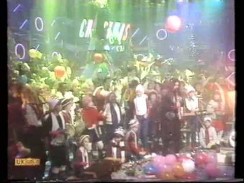 Roy Wood (Wizzard) - I Wish It Could Be Christmas Everyday - TOTP 1984