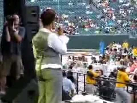 YouTube- Chrisette Michele-Good Girl Cincinnati 7-25-08