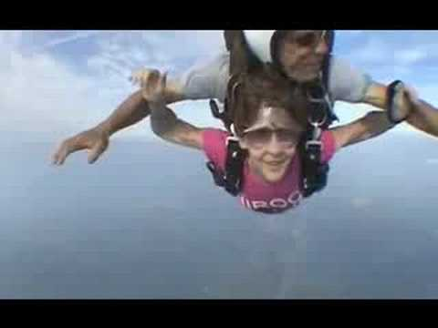 SHIROCK - Adam`s mom skydiving at 12000 feet - Say It Out