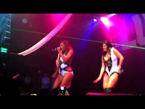 Girlicious - `Sexy Bitch` at Club Lucky 8.18.10 (1of3)