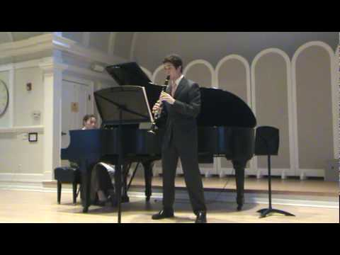 Brahms Clarinet Sonata No. 2 in Eb Major mvt. 3