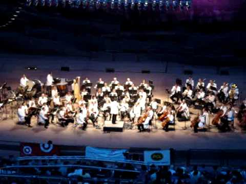 Colorado Symphony at Red Rocks 7/5/2010 Fanfare For The Common Man