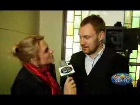David Gray Concert for Kids Interview - KFOG Radio