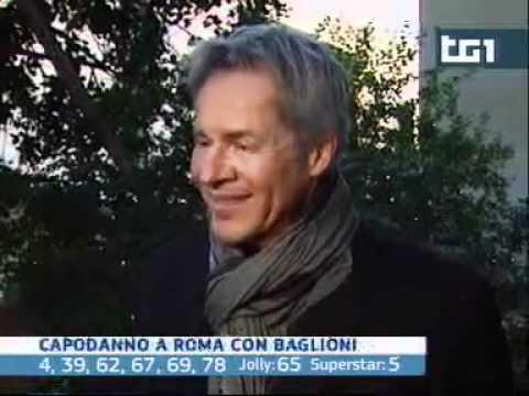 Claudio Baglioni capodanno in concerto a Roma. mp4