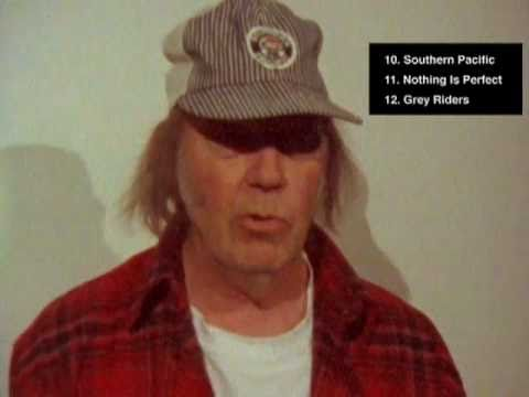 "Neil Young - ""A Treasure"" Tech Notes"